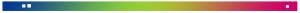Logo Kick Haarlem 7-6-2016 Blauw-Groen-Roze alleen streep